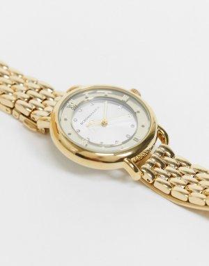 Массивные часы-браслет BCBG Max Azria-Золотистый MaxAzria