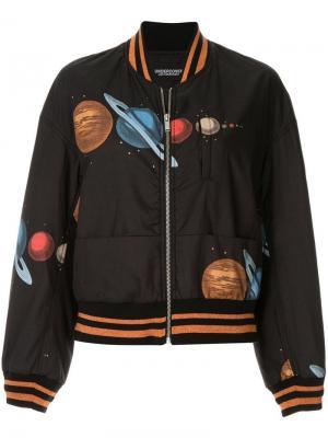 Куртка-бомбер с изображением планет Undercover