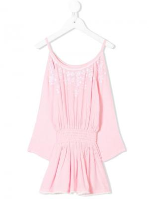 Платье Gelati Elizabeth Hurley Beach Kids. Цвет: розовый