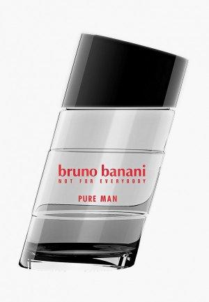 Туалетная вода Bruno Banani Pure, 50 мл. Цвет: прозрачный