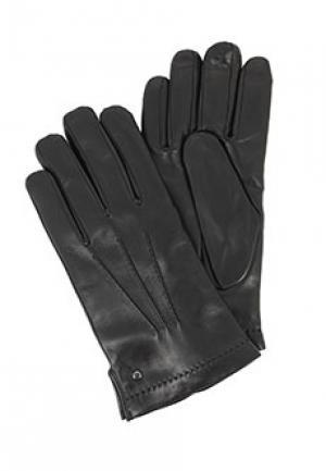 Перчатки ALDO BRUE. Цвет: черный