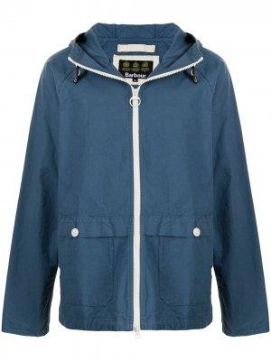 Куртка Bennet с капюшоном Barbour. Цвет: синий