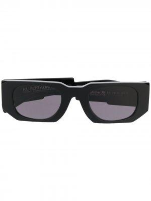 Солнцезащитные очки U8 Mask Kuboraum. Цвет: черный