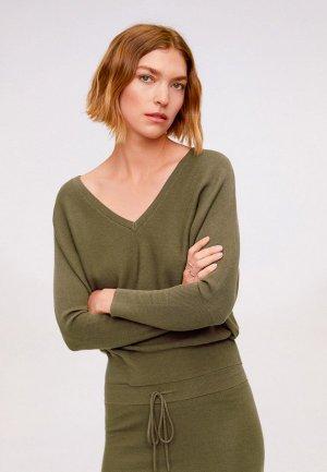 Пуловер Mango - MILANO. Цвет: хаки