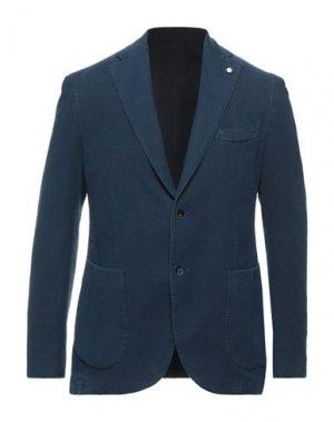 Пиджак BRANDO. Цвет: грифельно-синий