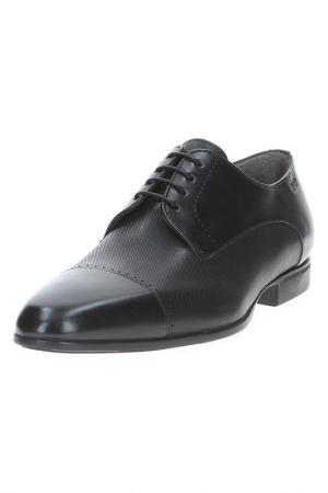 Туфли Hugo Boss. Цвет: черный