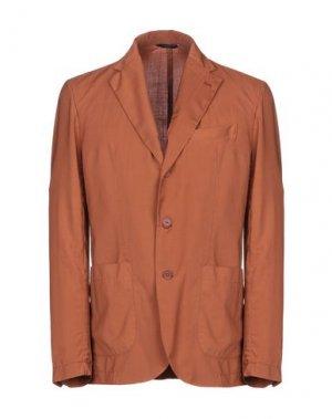 Пиджак HEVÒ. Цвет: коричневый