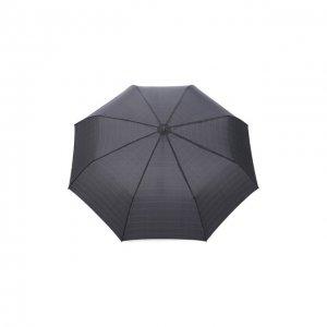 Складной зонт Doppler. Цвет: серый