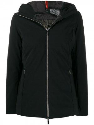 Легкая куртка с капюшоном RRD. Цвет: черный