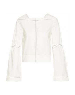 Блузка DEREK LAM 10 CROSBY. Цвет: белый