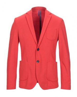 Пиджак BERNA. Цвет: красный