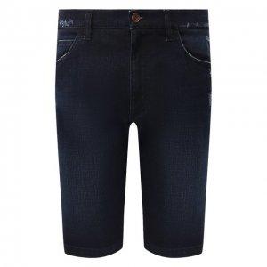 Джинсовые шорты Dolce & Gabbana. Цвет: синий