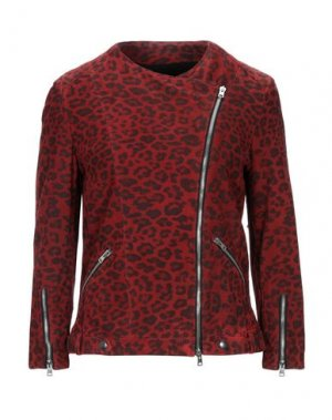 Куртка DACUTE. Цвет: красный