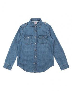 Джинсовая рубашка AMERICAN OUTFITTERS. Цвет: синий