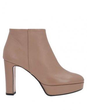 Полусапоги и высокие ботинки ANNA F.. Цвет: розовый