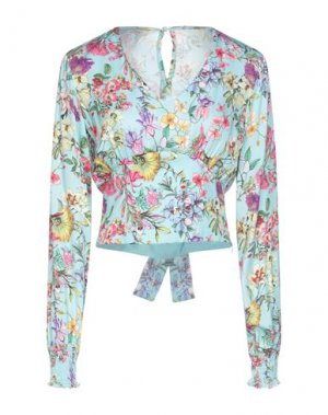 Блузка FRACOMINA. Цвет: небесно-голубой