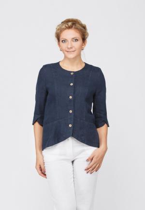 Рубашка Kayros. Цвет: синий