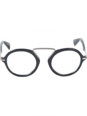 Очки и Оправы Yohji Yamamoto. Цвет: чёрный