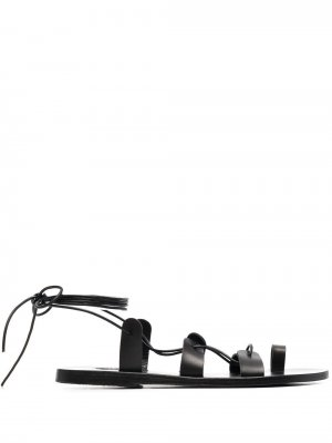 Сандалии Alcyone с ремешками Ancient Greek Sandals. Цвет: черный