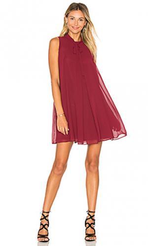 Мини майка-платье BCBGeneration. Цвет: вишня