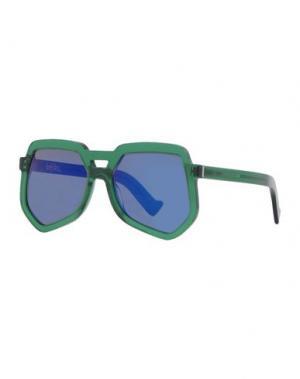 Солнечные очки GREY ANT. Цвет: зеленый