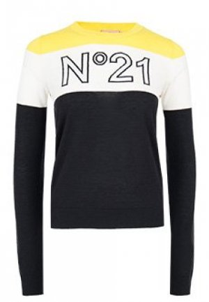 Джемпер No21. Цвет: черный