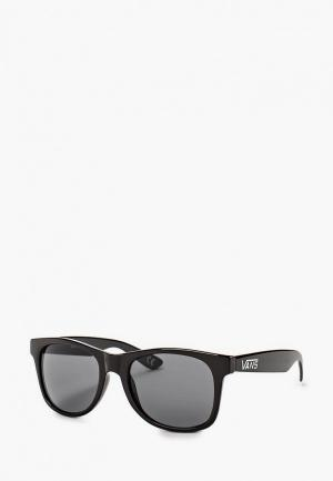 Очки солнцезащитные Vans M SPICOLI 4 SHADES Black. Цвет: черный