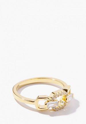 Кольцо Exclaim. Цвет: золотой