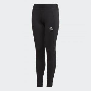 Теплые леггинсы для фитнеса Alphaskin AEROREADY Performance adidas. Цвет: черный