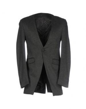 Пиджак MNML COUTURE. Цвет: свинцово-серый