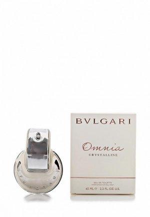 Туалетная вода Bvlgari Omnia crystallIne 65 мл. Цвет: белый