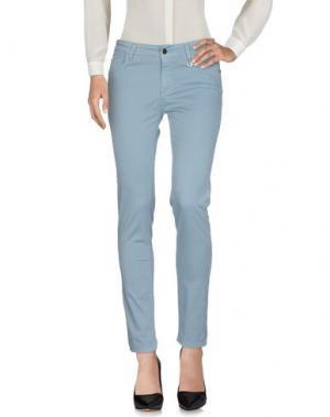 Повседневные брюки ANNA RACHELE JEANS COLLECTION. Цвет: небесно-голубой