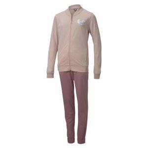 Детский спортивный костюм Poly Suit PUMA. Цвет: розовый