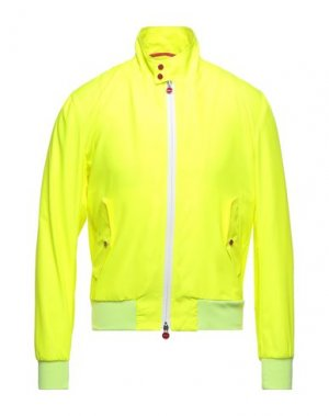 Куртка KITON. Цвет: желтый