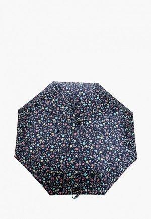 Зонт складной Labbra. Цвет: синий