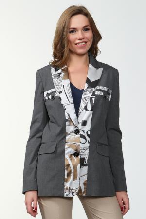 Пиджак Galliano. Цвет: серый