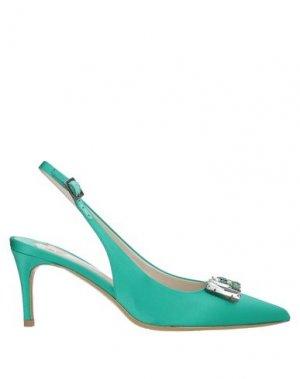 Туфли ERNESTO ESPOSITO. Цвет: светло-зеленый