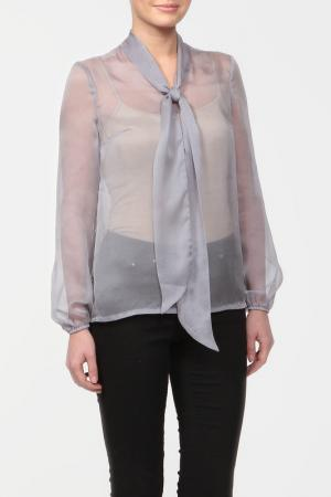 Блузка Joe Suis. Цвет: серый
