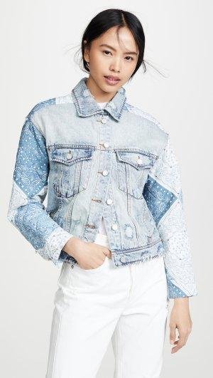 Patchwork Jacket Blank Denim