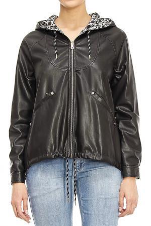 Куртка Patrizia Pepe. Цвет: черный
