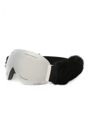 Горнолыжная маска Dolce & Gabbana. Цвет: чёрный
