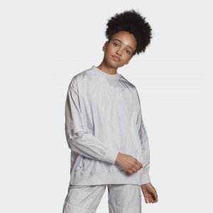 Свитшот Crew Originals adidas. Цвет: серый