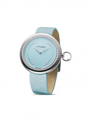 Наручные часы Kalysta Sparkling Tale 39 мм Jorg Hysek. Цвет: синий