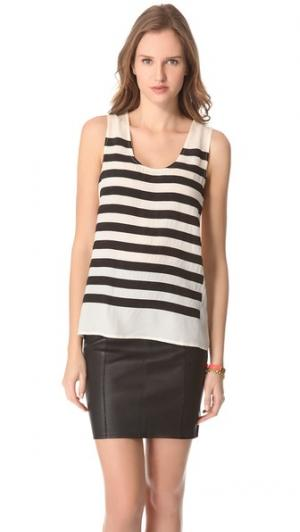 Harper Chiffon Sleeveless Top Marc by Jacobs. Цвет: крашеный жемчуг