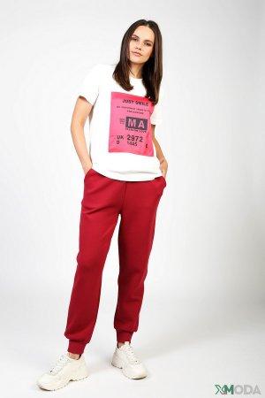 Спортивные брюки Marc Aurel. Цвет: красный