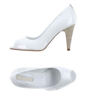 Туфли DIBRERA BY PAOLO ZANOLI. Цвет: белый