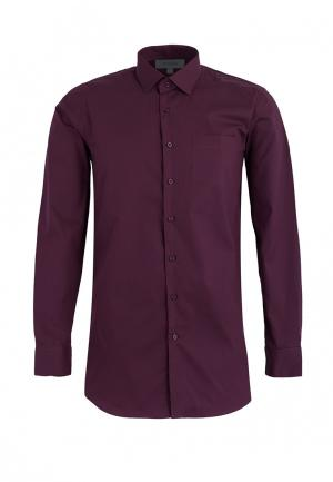Рубашка Stenser. Цвет: бордовый