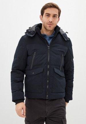 Куртка утепленная Indicode Jeans Ron. Цвет: черный
