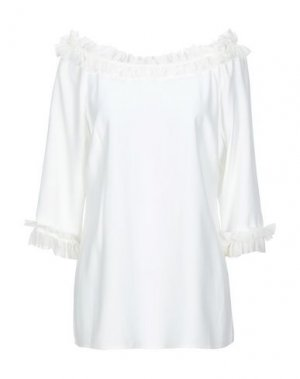 Блузка BOTONDI MILANO. Цвет: белый