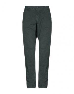 Повседневные брюки NAPAPIJRI. Цвет: темно-зеленый